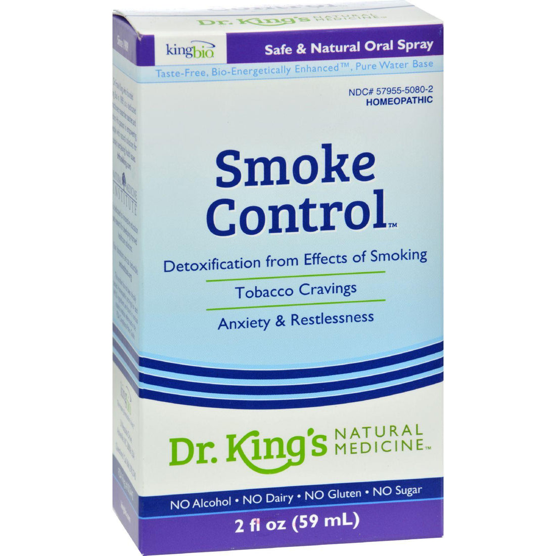 Mother Mantis: King Bio Homeopathic Smoke Control - 2 Oz King Bio Homeopathic