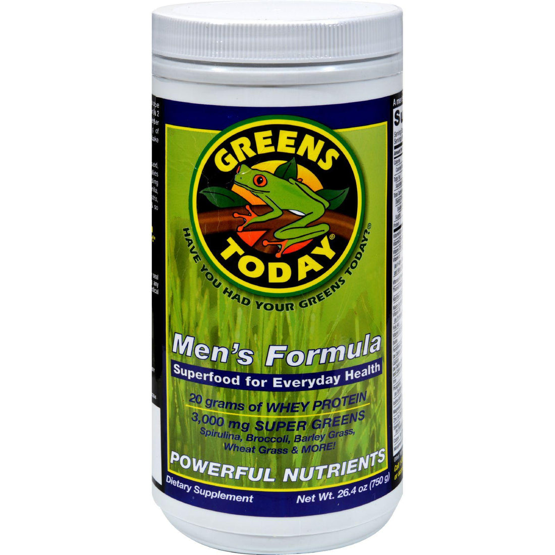 Mother Mantis: Greens Today Men's Formula - 26.4 Oz Greens Today