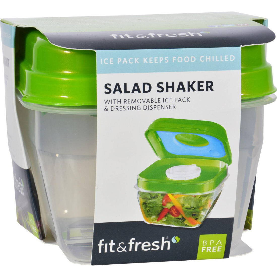 Mother Mantis: Fit And Fresh Salad Shaker - 1 Container Fit And Fresh