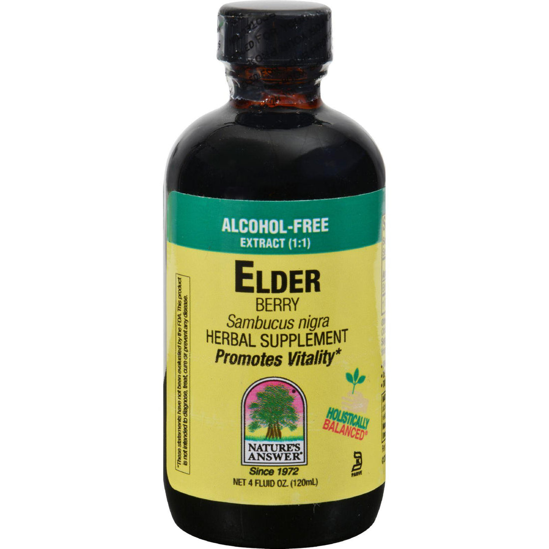 Mother Mantis: Nature's Answer Elder Berry Alcohol Free - 4 Fl Oz Nature's Answer