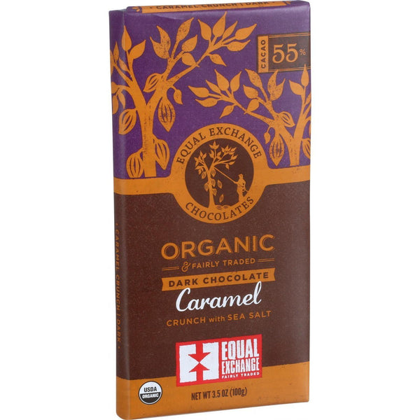 Mother Mantis: Organic Chocolate Caramel W-sea Salt Equal Exchange