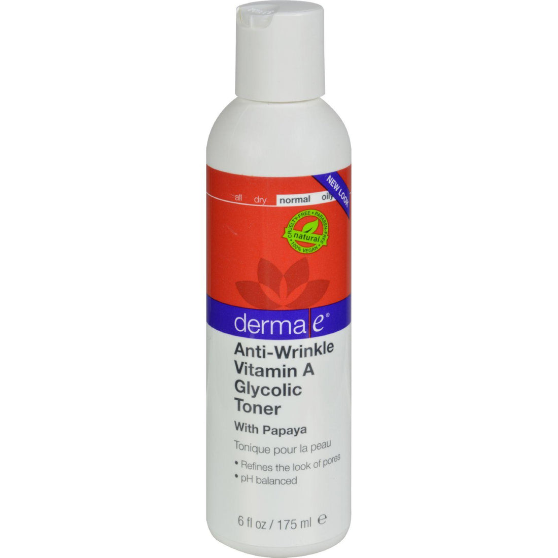 Mother Mantis: Derma E Vitamin A Glycolic Toner - 6 Fl Oz Derma E