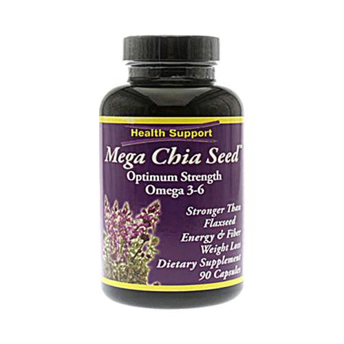 Mother Mantis: Health Support Mega Chia Seed - 90 Capsules Health Support