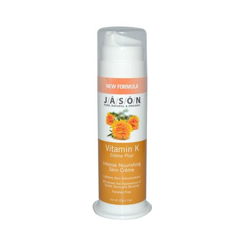Mother Mantis: Jason Lightening Vitamin K Creme Plus - 2 Oz Jason Natural Products