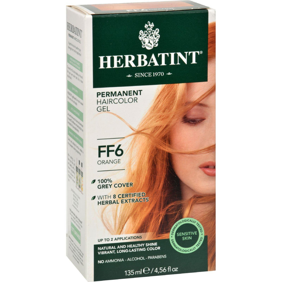 Mother Mantis: Herbatint Haircolor Kit Flash Fashion Orange Ff6 - 1 Kit Herbatint