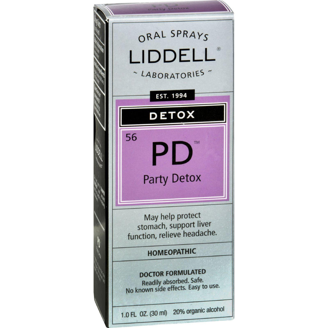 Mother Mantis: Liddell Homeopathic Detox Pd Party Detox - 1 Fl Oz Liddell Homeopathic