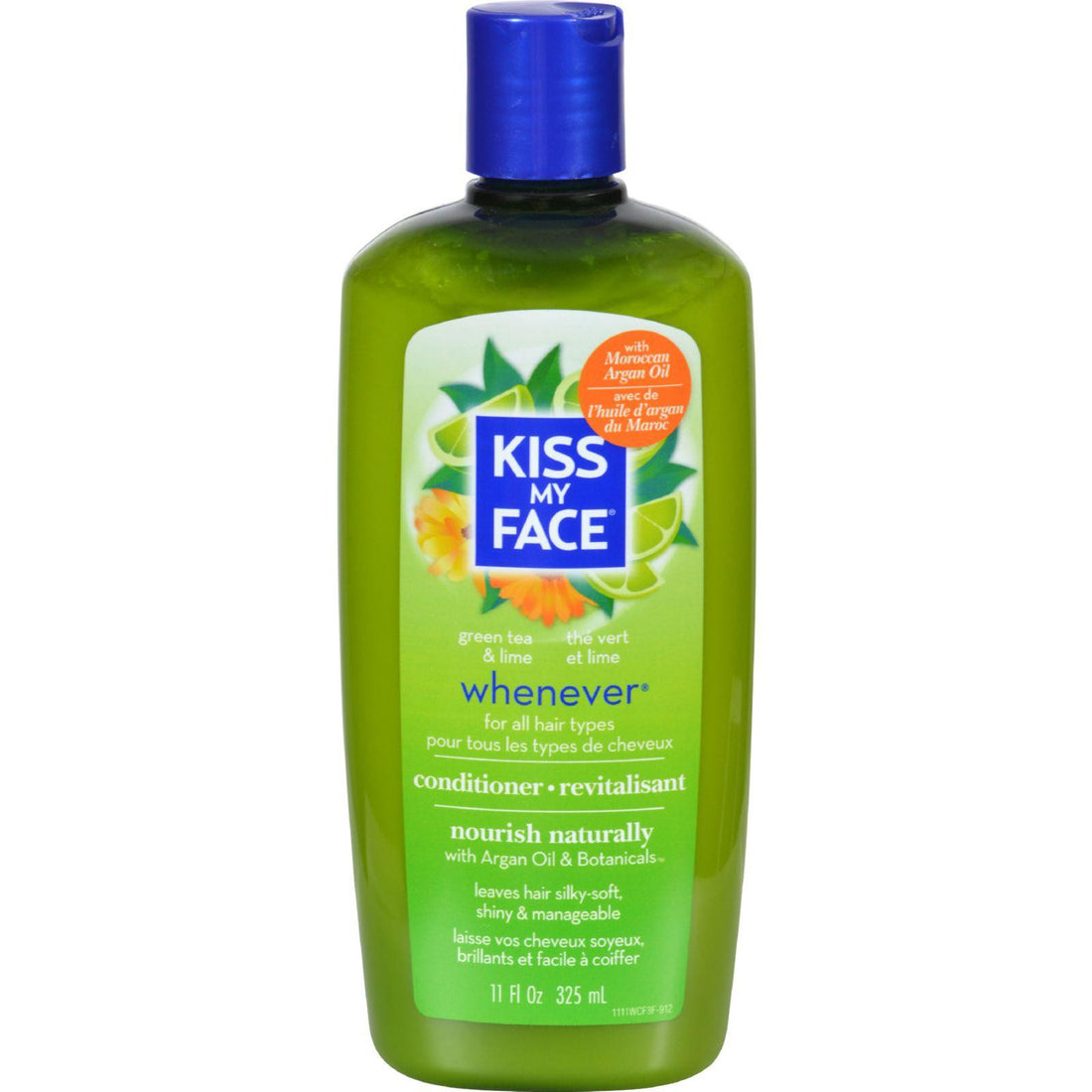 Mother Mantis: Kiss My Face Whenever Conditioner Green Tea And Lime - 11 Fl Oz Kiss My Face