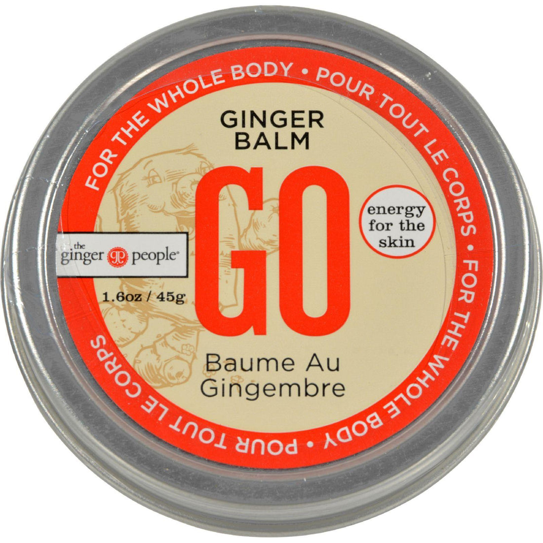 Mother Mantis: Go Body Balm - Ginger - 1.6 Oz Go
