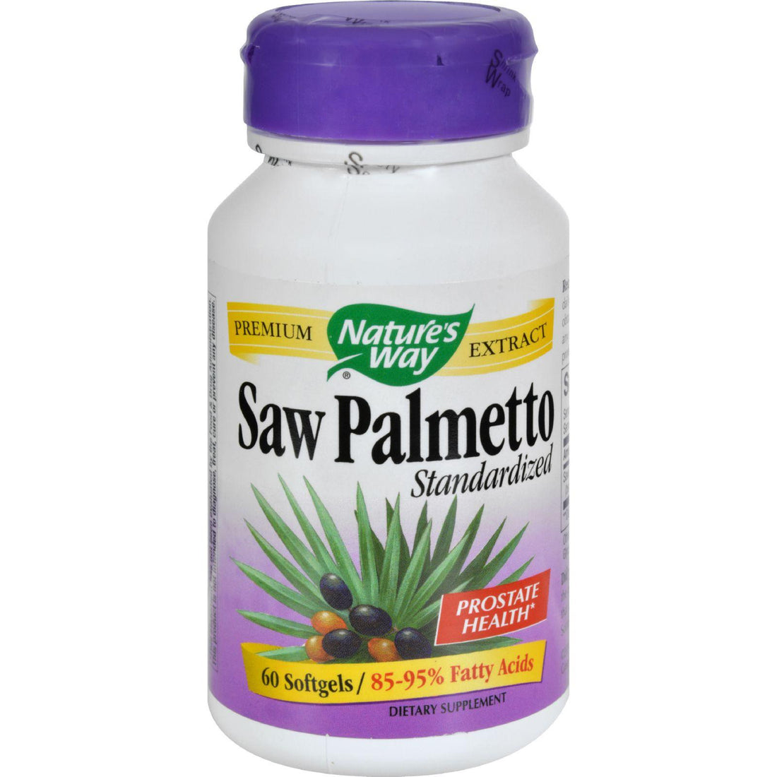 Mother Mantis: Nature's Way Saw Palmetto Standardized - 60 Softgels Nature's Way