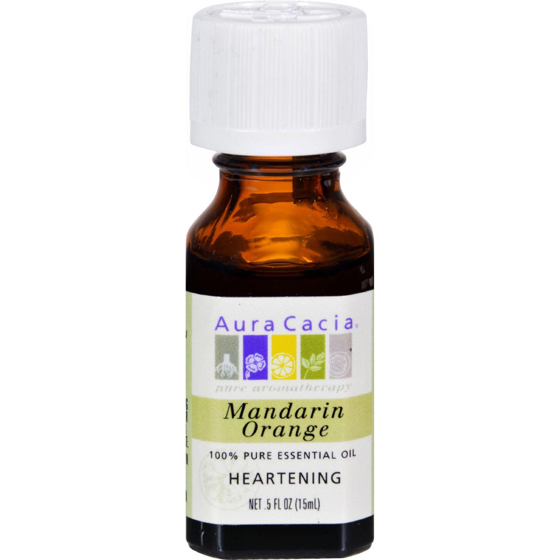 Mother Mantis: Aura Cacia 100% Pure Essential Oil Mandarin Orange - 0.5 Fl Oz Aura Cacia