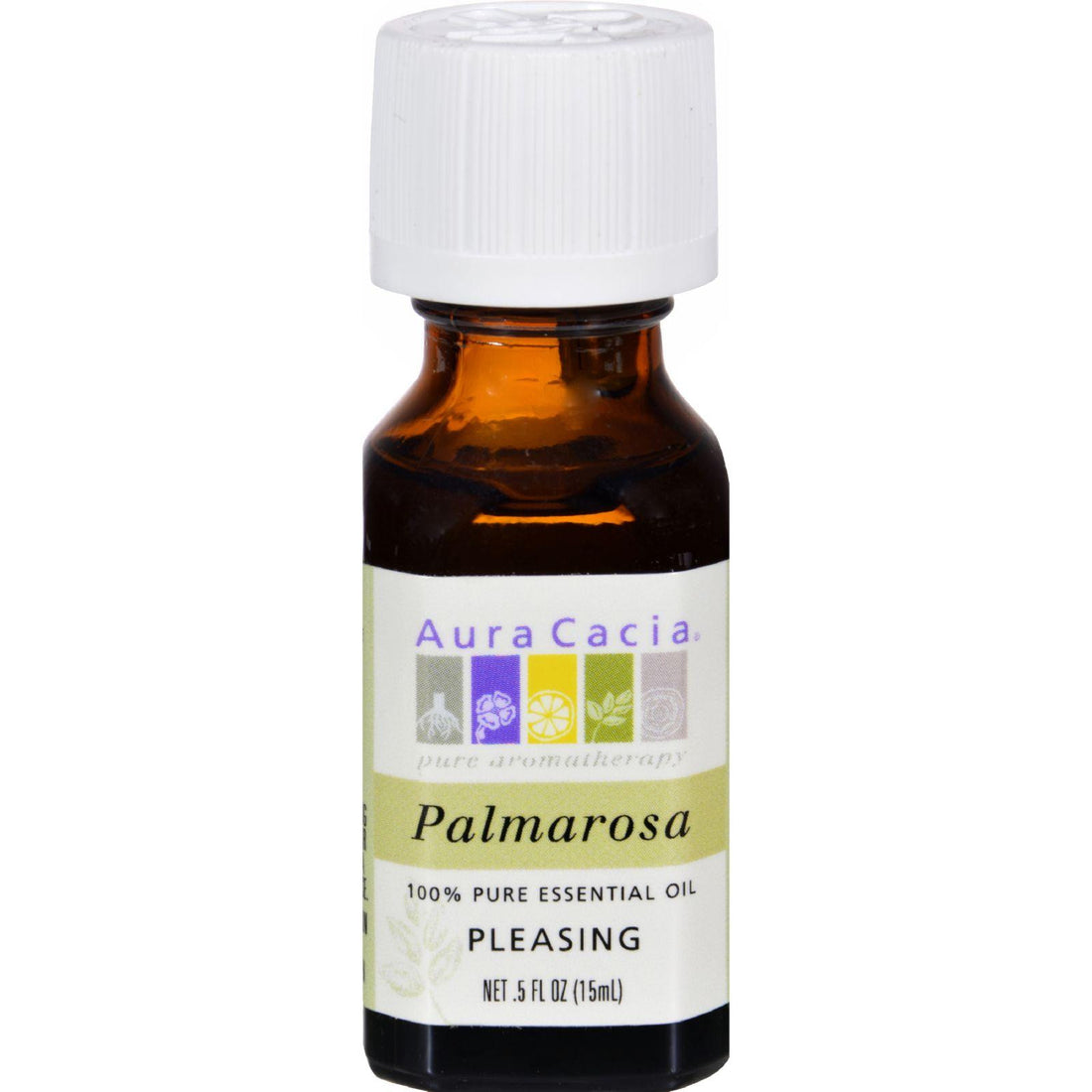 Mother Mantis: Aura Cacia Pure Essential Oil Palmarosa - 0.5 Fl Oz Aura Cacia