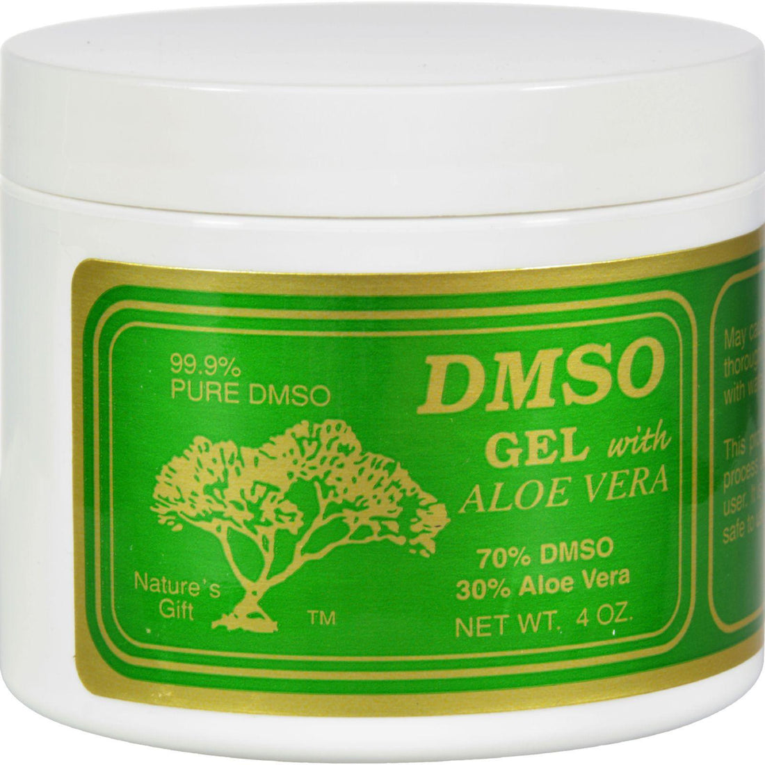 Mother Mantis: Dmso Gel With Aloe Vera - 4 Oz Dmso