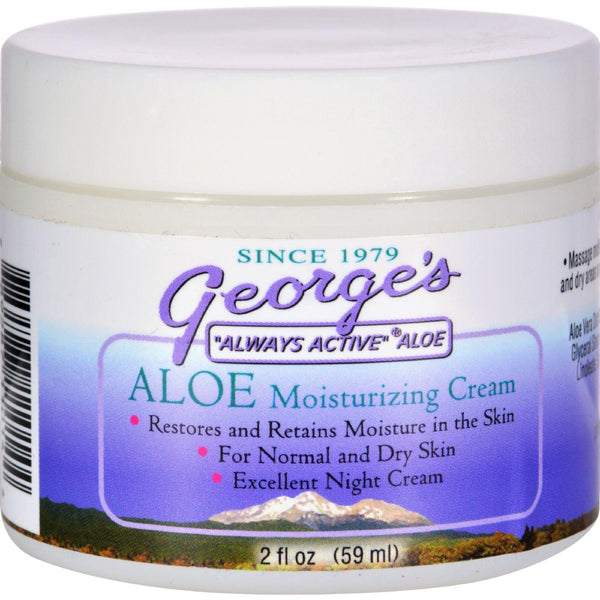 Mother Mantis: George's Aloe Vera Moisturizing Cream - 2 Oz George's Aloe Vera