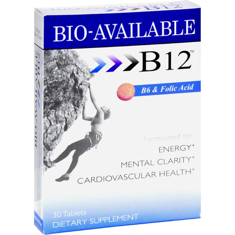 Heaven Sent Sublingual B12 With B6 And Folic Acid - 30 Tablets Heaven Sent