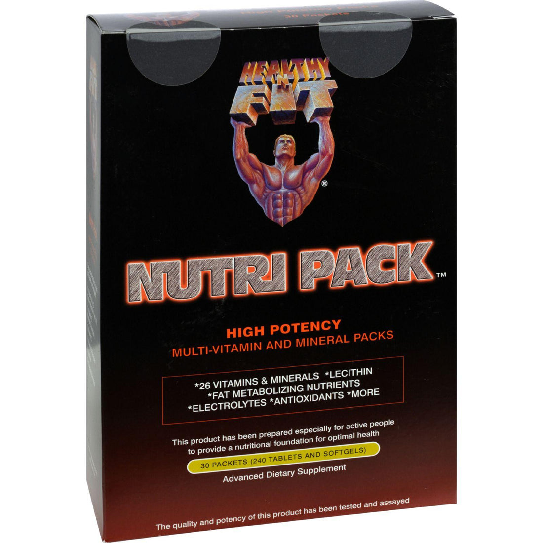 Mother Mantis: Healthy 'n Fit Nutritionals Nutri-pak 30 Days - 30 Packets Healthy 'n Fit