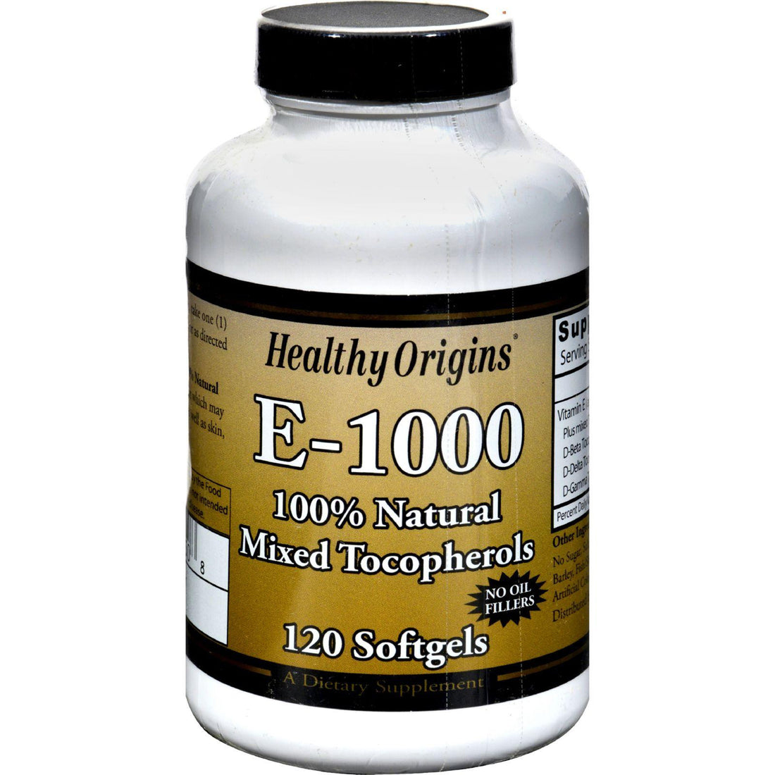 Mother Mantis: Healthy Origins E-1000 - 1000 Iu - 120 Softgels Healthy Origins