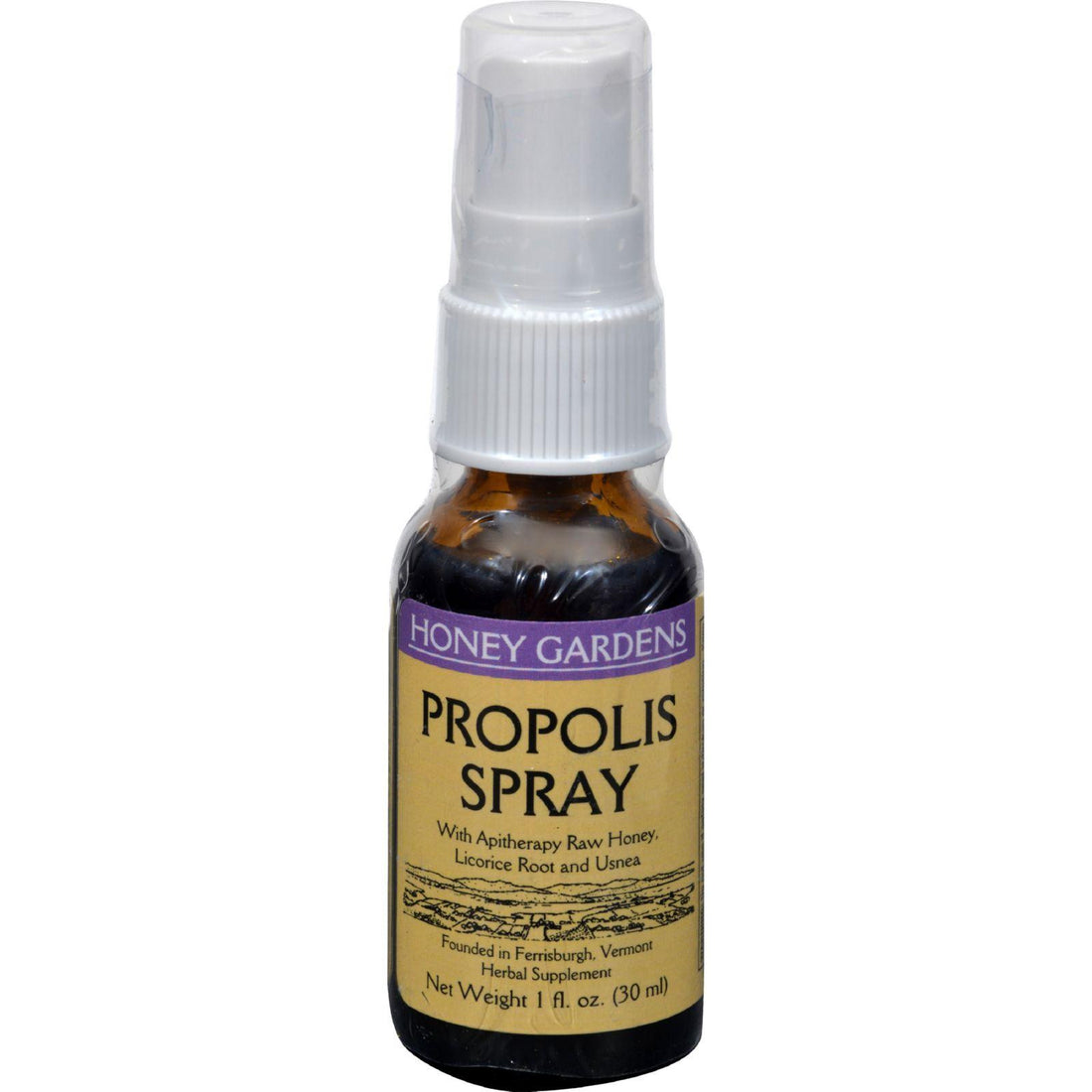 Mother Mantis: Honey Gardens Apiaries Propolis Spray - 1 Oz Honey Gardens Apiaries