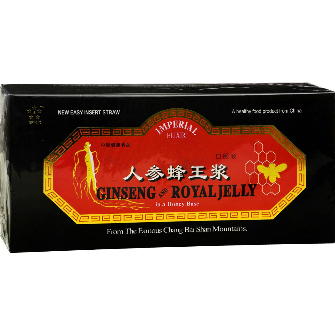 Mother Mantis: Imperial Elixir Ginseng And Royal Jelly - 10 Mg - 30 Bottles Imperial Elixir
