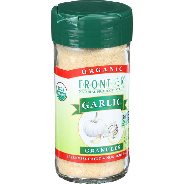 Mother Mantis: Organic Garlic Granules Frontier Herb