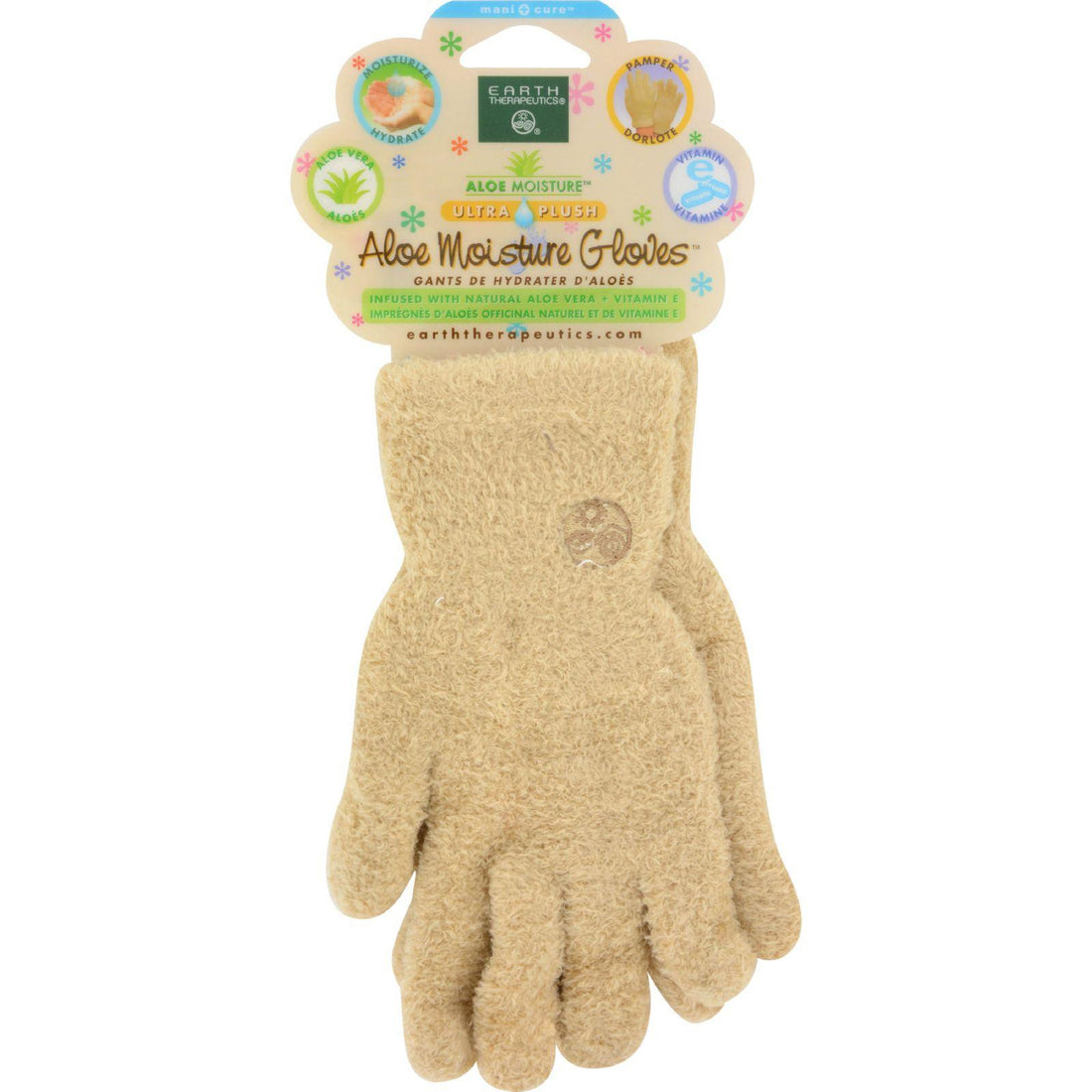 Mother Mantis: Earth Therapeutics Ultra Tan Gloves With Aloe - 1 Pair Earth Therapeutics