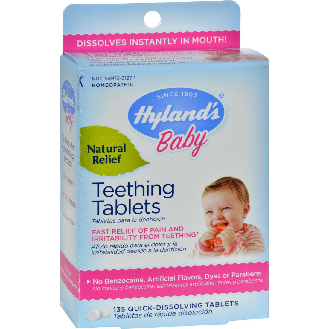 Mother Mantis: Hyland's Teething Tablets - 135 Tablets Hyland's