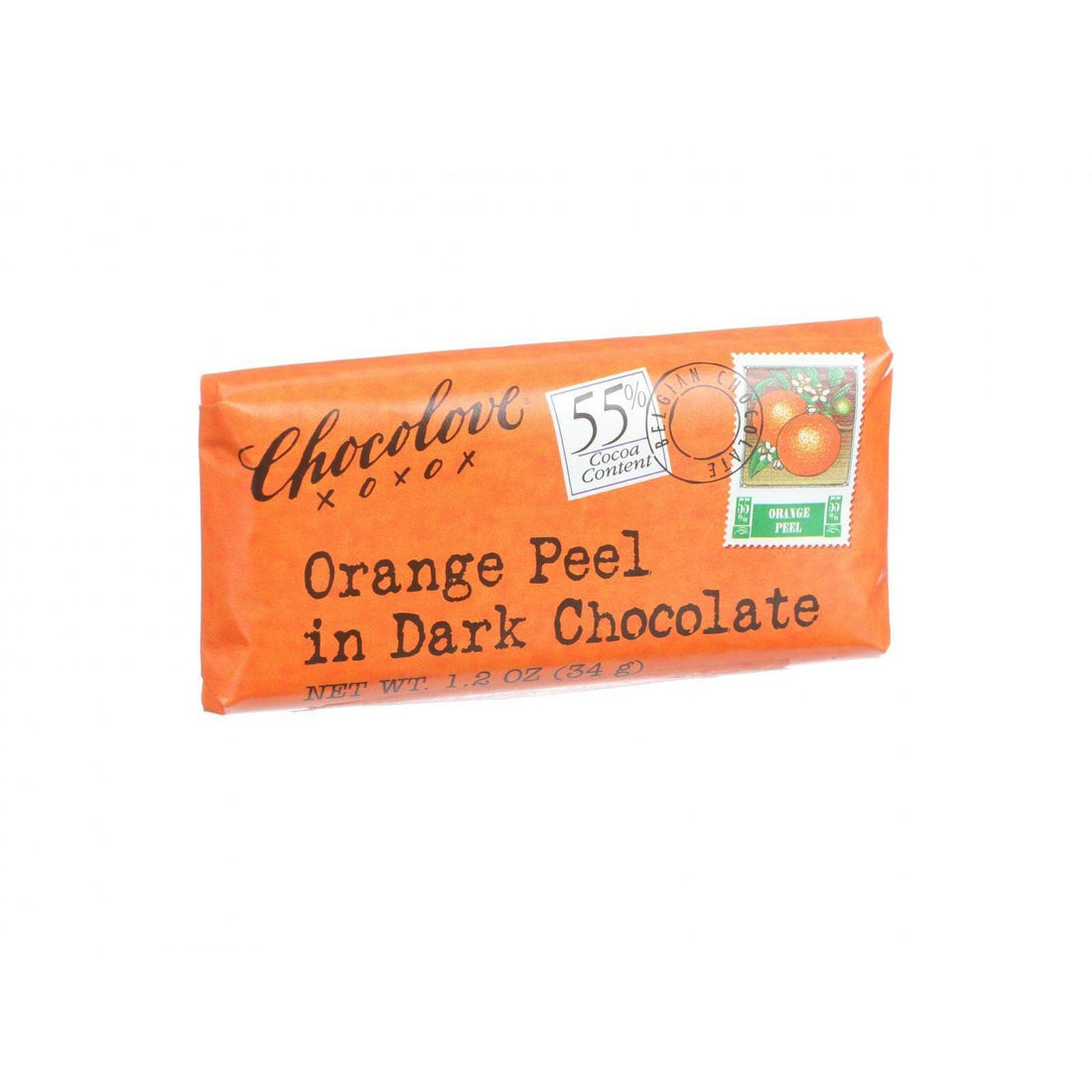 Mother Mantis: Dark Chocolate Orange Peel Mini Bar Chocolove Xoxox