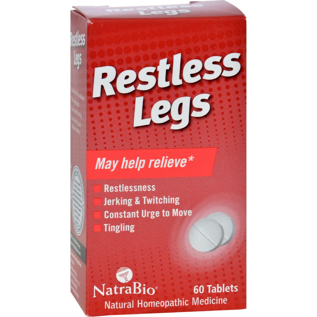 Mother Mantis: Natrabio Restless Legs - 60 Tablets Natrabio