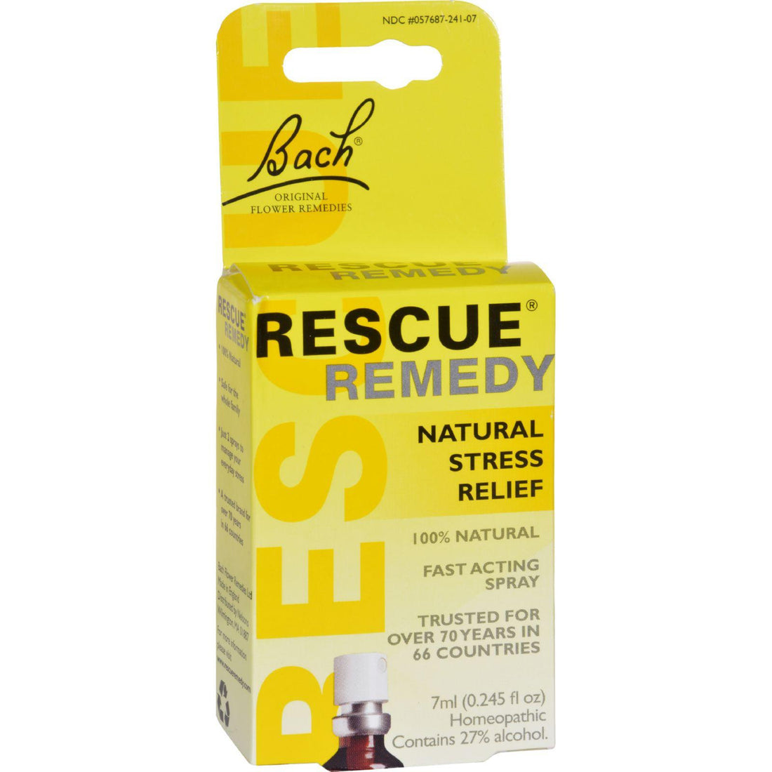 Mother Mantis: Bach Flower Remedies Rescue Remedy Spray - 0.245 Fl Oz Bach