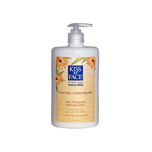 Mother Mantis: Kiss My Face Ultra Moisturizer Honey Calendula - 16 Fl Oz Kiss My Face