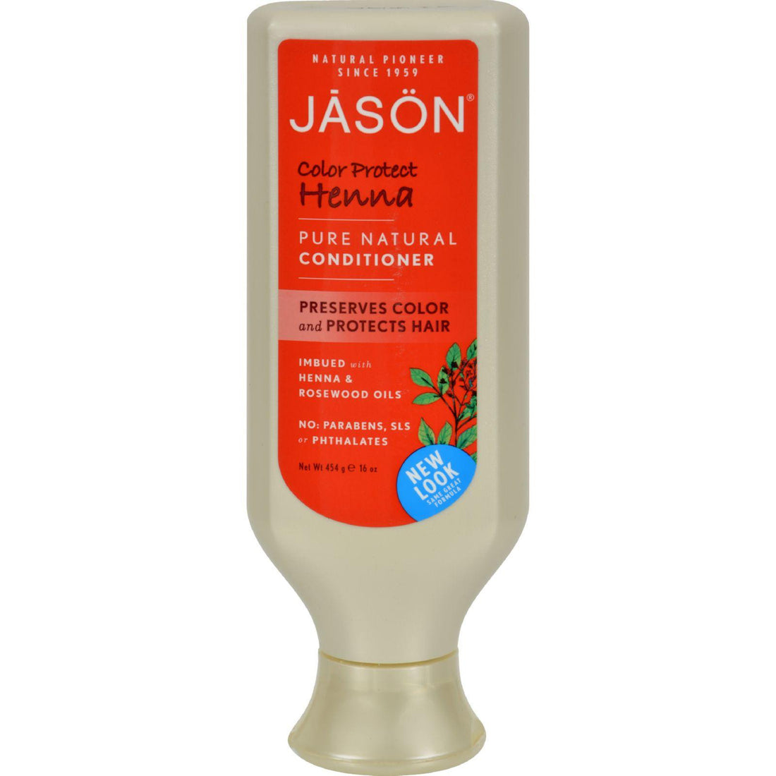 Mother Mantis: Jason Pure Natural Conditioner Color Protect Henna - 16 Fl Oz Jason Natural Products