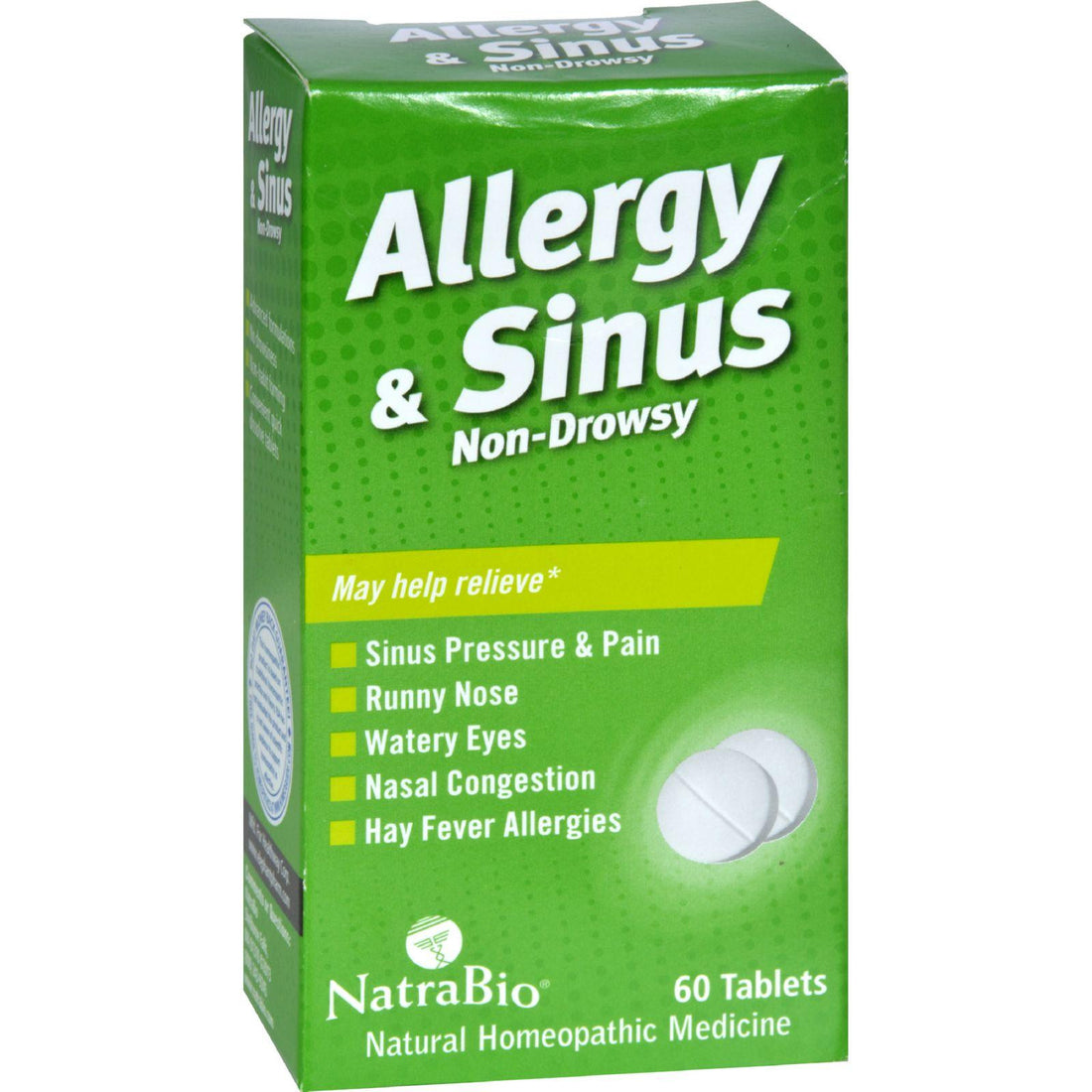 Mother Mantis: Natrabio Allergy And Sinus Non-drowsy - 60 Tablets Natrabio
