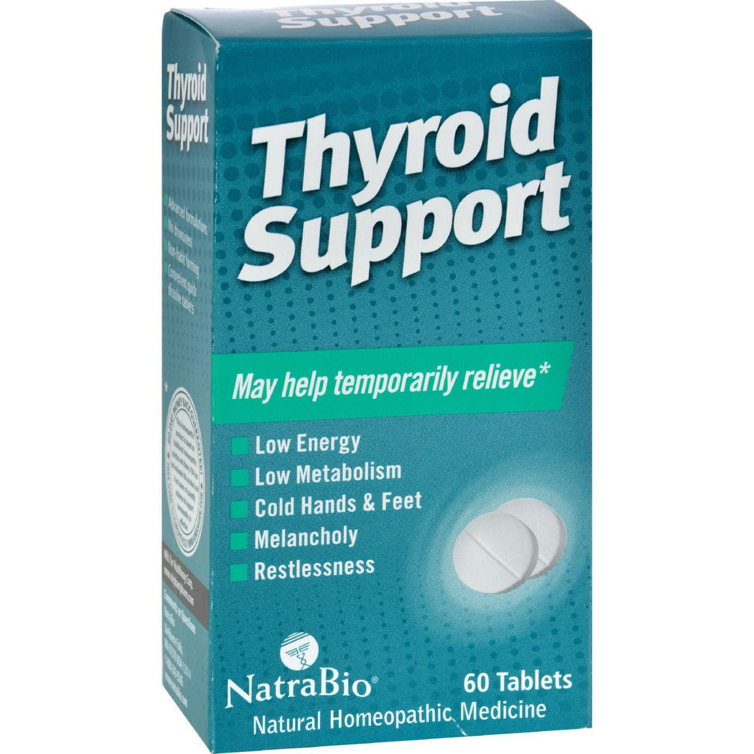 Mother Mantis: Natrabio Thyroid Support - 60 Tablets Natrabio