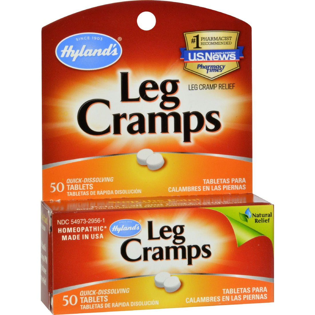 Mother Mantis: Hyland's Leg Cramps - 50 Quick Disolving Tablets Hyland's