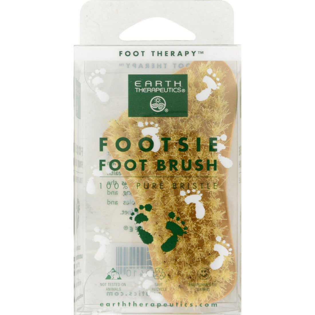 Mother Mantis: Earth Therapeutics Footsie Foot Brush - 1 Brush Earth Therapeutics