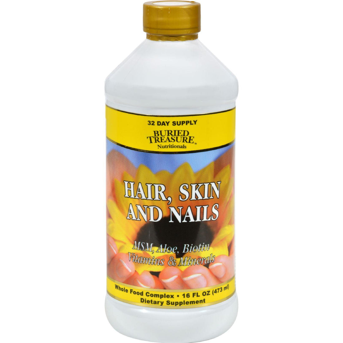 Mother Mantis: Buried Treasure Hair Skin And Nails Complete - 16 Fl Oz Buried Treasure