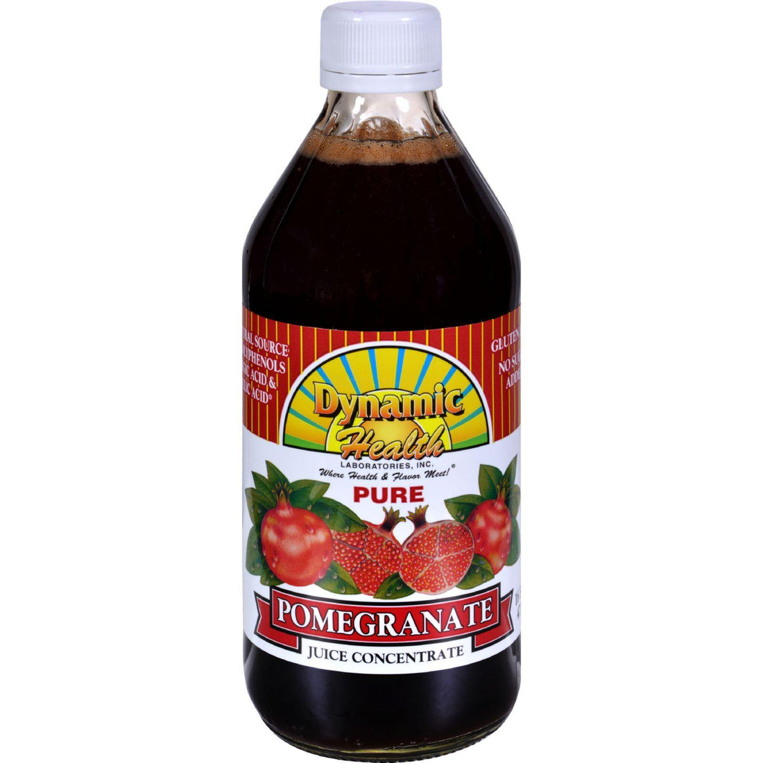 Mother Mantis: Dynamic Health Pomegranate Juice Concentrate - 16 Fl Oz Dynamic Health