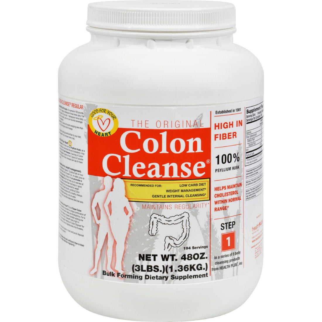 Mother Mantis: Health Plus The Original Colon Cleanse - 3 Lbs Health Plus