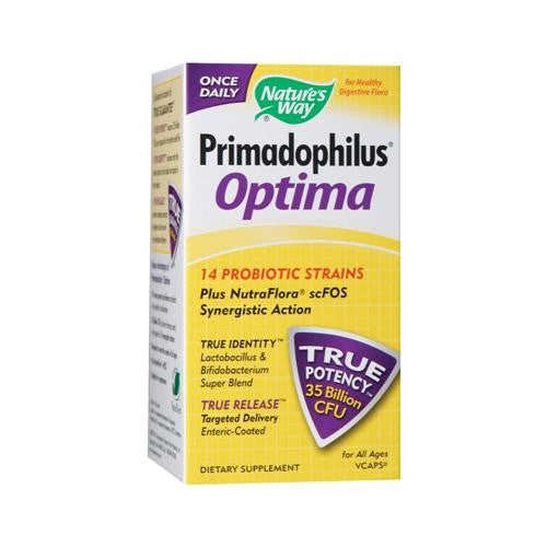 Mother Mantis: Nature's Way Primadophilus Optima - 30 Vcaps Nature's Way