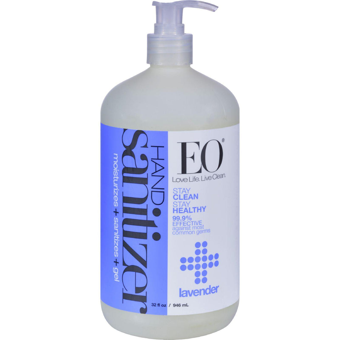 Mother Mantis: Eo Products Hand Sanitizing Gel - Lavender Essential Oil - 32 Oz Eo Products