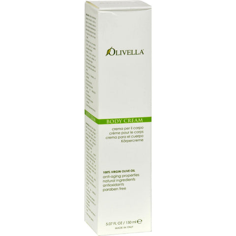 Olivella Virgin Olive Oil Body Cream - 5.07 Fl Oz Olivella