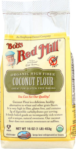Bob's Red Mill Organic Coconut Flour - 16 Oz - Case Of 4 Bob's Red Mill