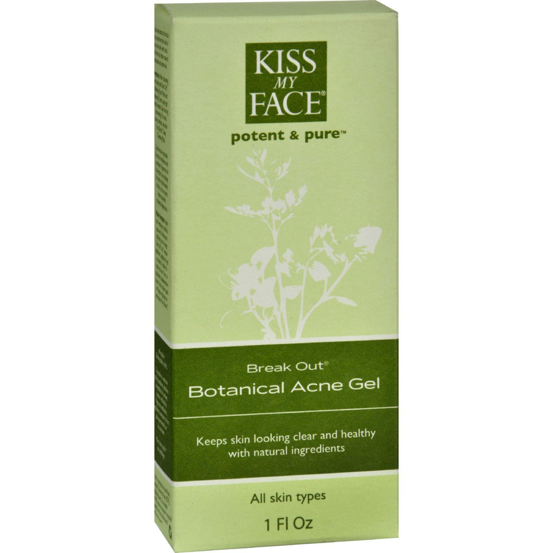 Mother Mantis: Kiss My Face Break Out Botanical Acne Gel - 1 Fl Oz Kiss My Face