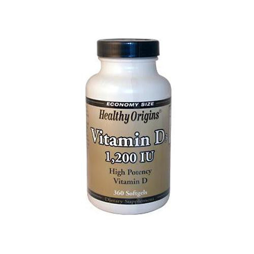 Mother Mantis: Healthy Origins Vitamin D3 - 1200 Iu - 360 Softgels Healthy Origins