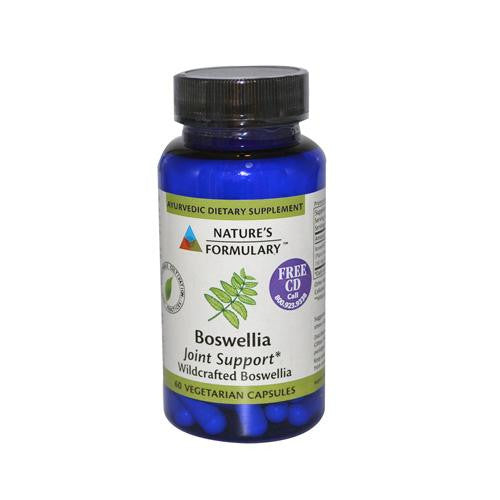 Mother Mantis: Nature's Formulary Boswellia - 60 Vegetarian Capsules Nature's Formulary