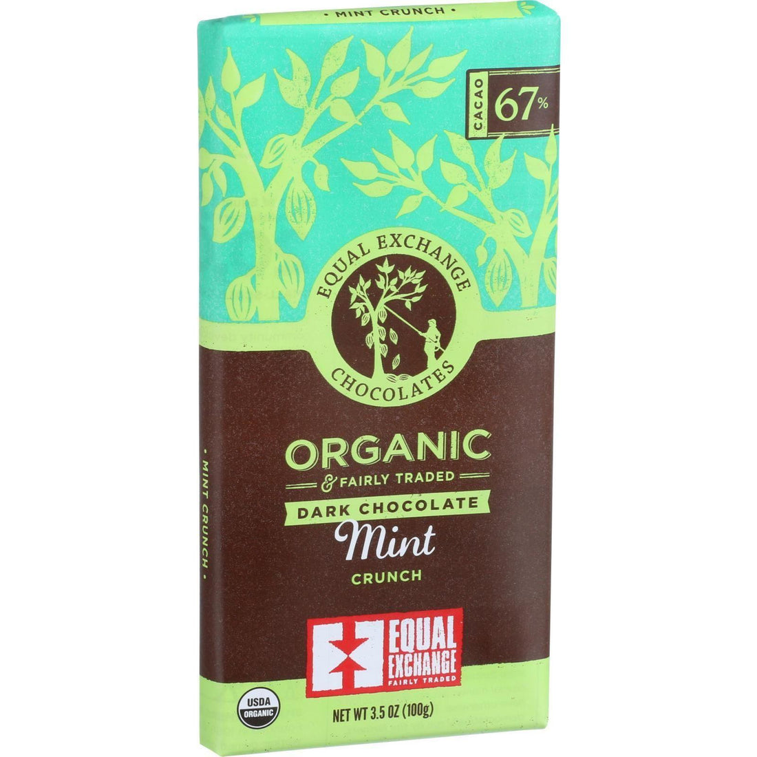 Mother Mantis: Organic Mint Chocolate Bar Equal Exchange