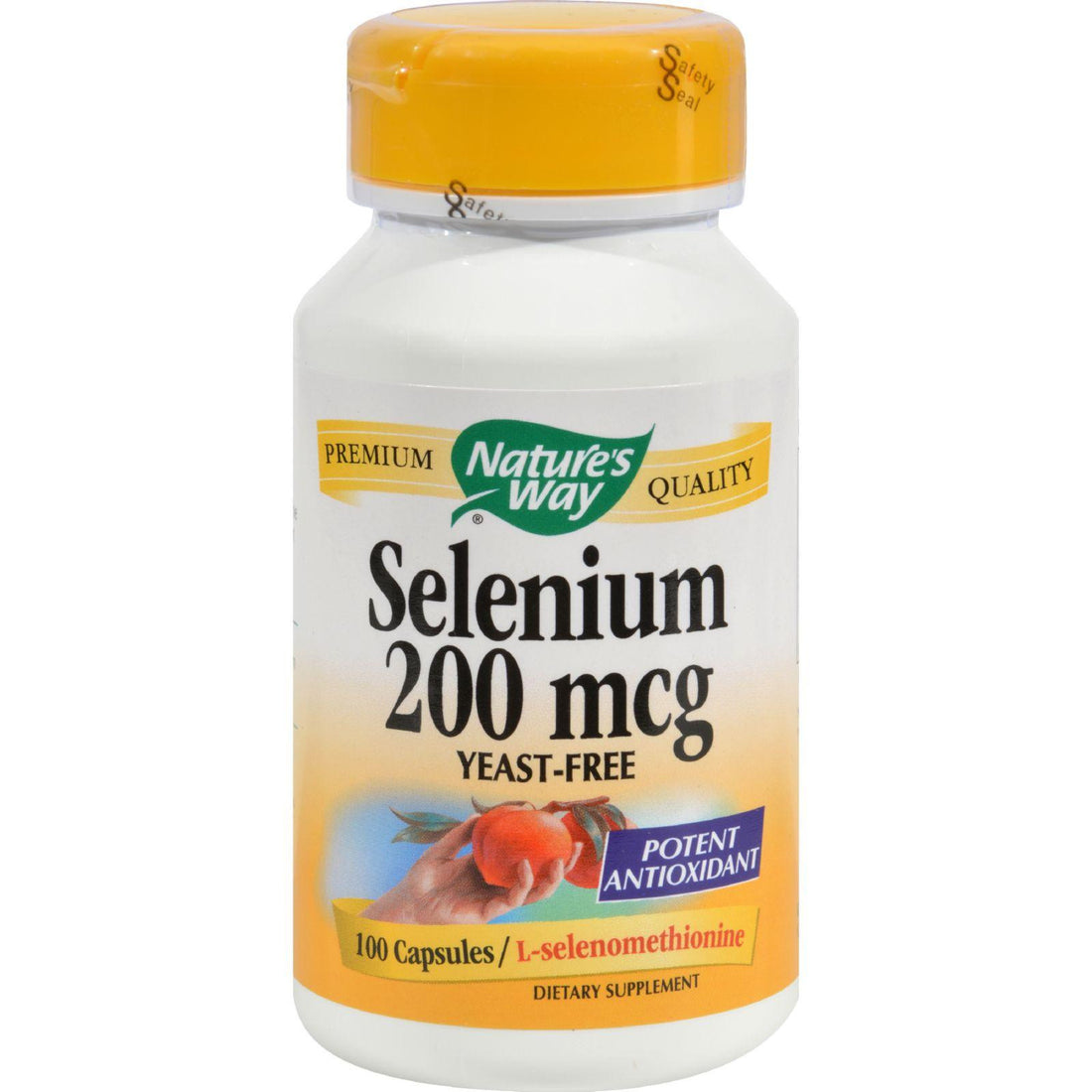 Mother Mantis: Nature's Way Selenium - 200 Mcg - 100 Capsules Nature's Way
