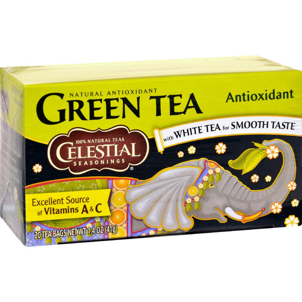 Mother Mantis: Celestial Seasonings Green Tea - 20 Tea Bags - Case Of 6 Celestial Seasonings
