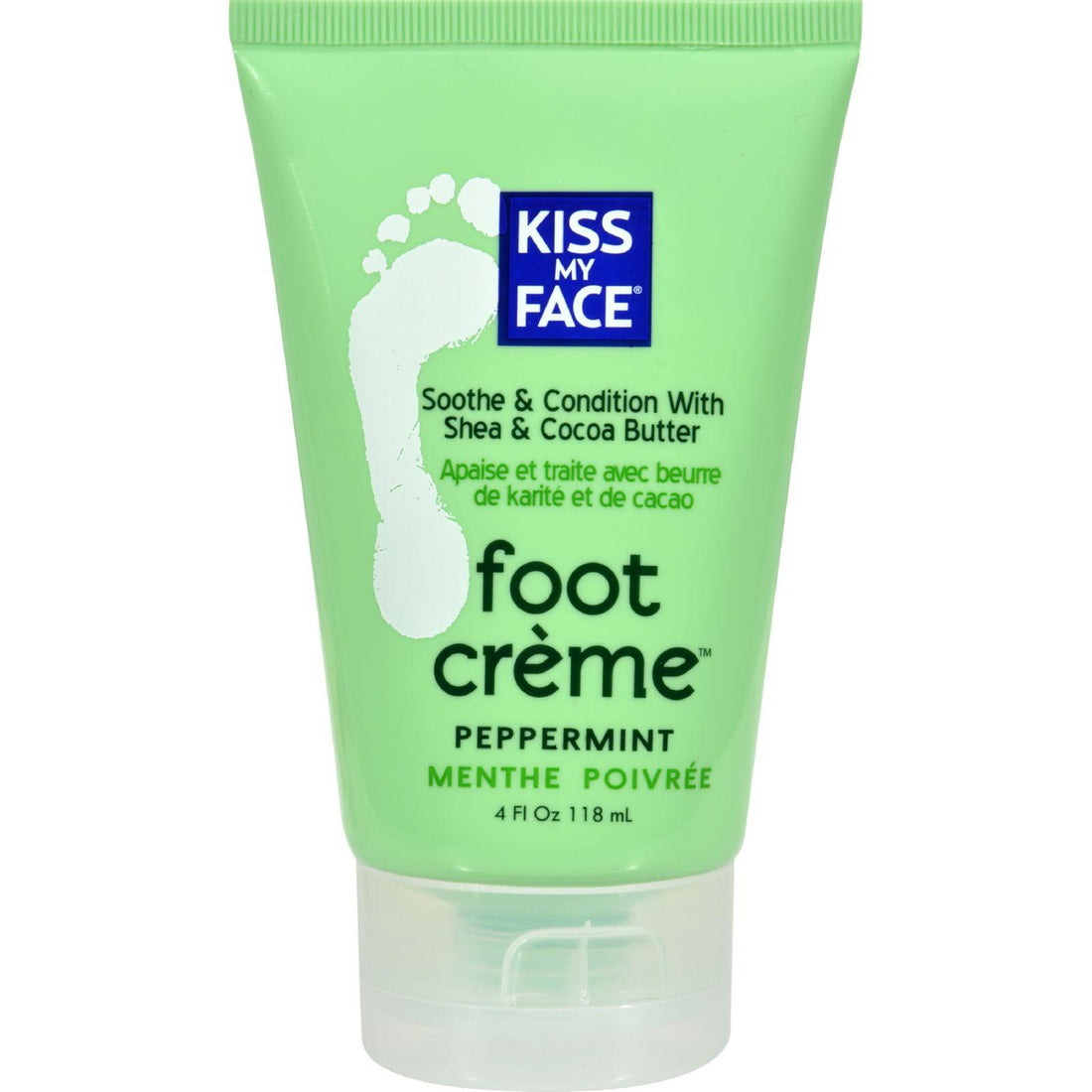 Mother Mantis: Kiss My Face Foot Creme Peppermint - 4 Oz Kiss My Face
