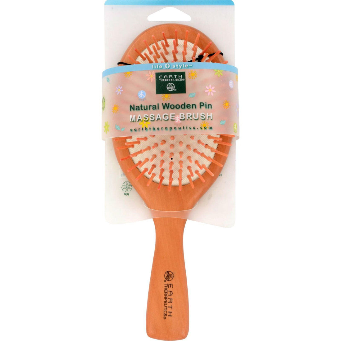 Mother Mantis: Earth Therapeutics Natural Wooden Pin Massage Brush Large - 1 Brush Earth Therapeutics