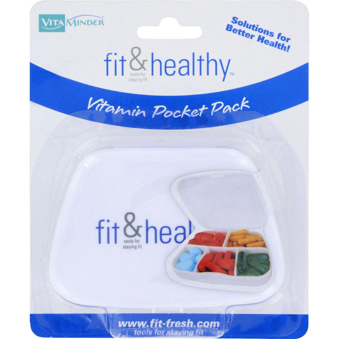 Mother Mantis: Fit And Healthy Vitaminder Vitamin Pocket Pack - 1 Case Fit And Healthy